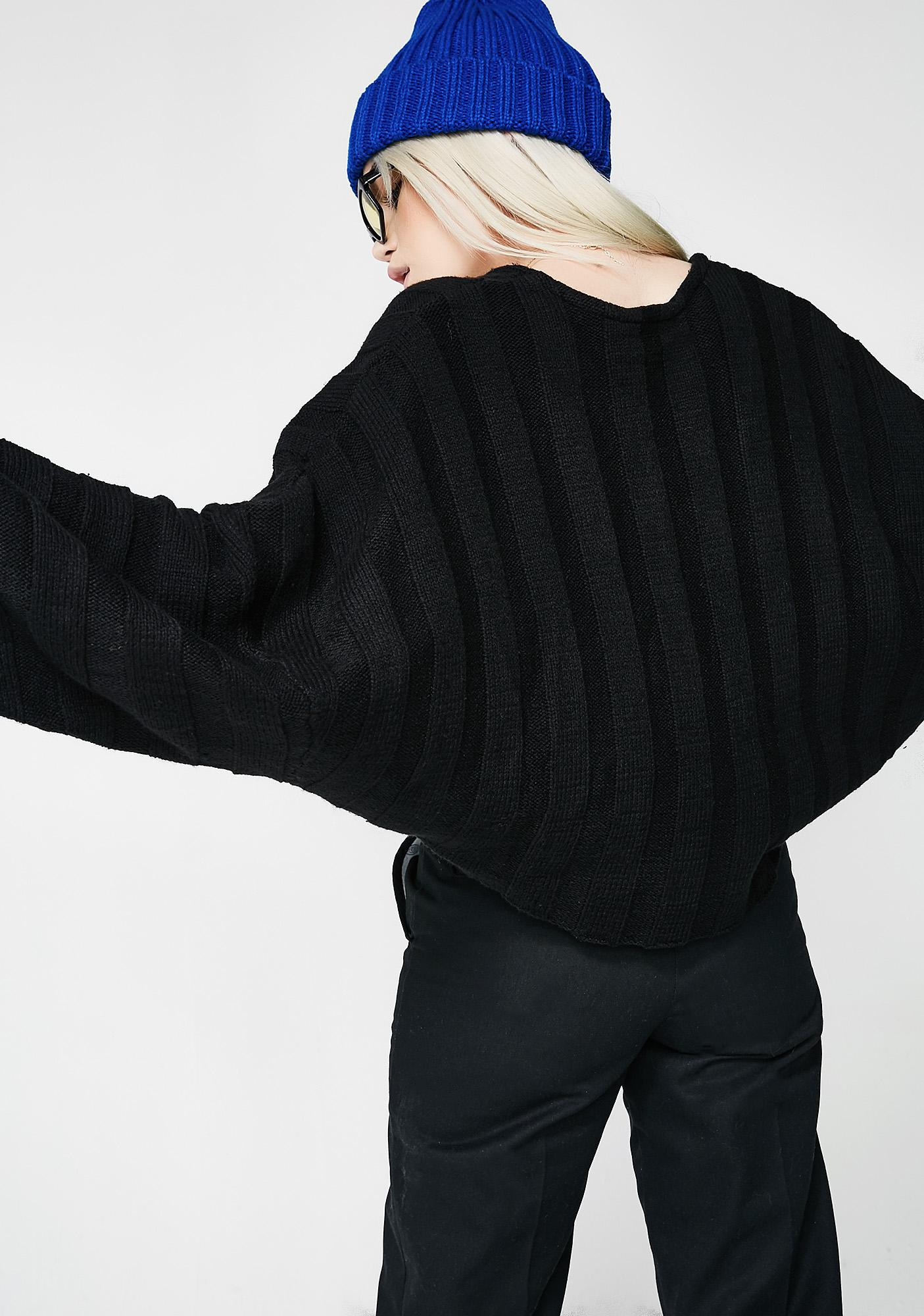 Pass That Crop Sweater