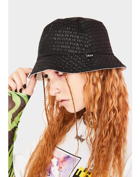 F It Reversible Bucket Hat