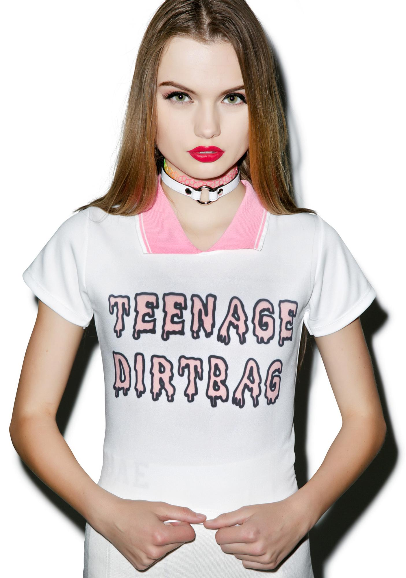 Teenage Dirtbag Polo Tee