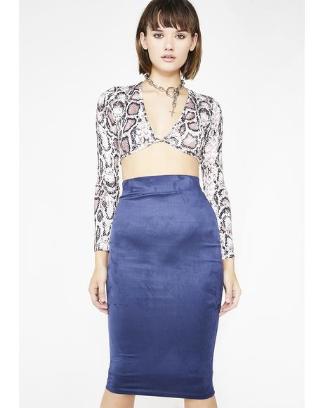 Shake It Up Midi Skirt