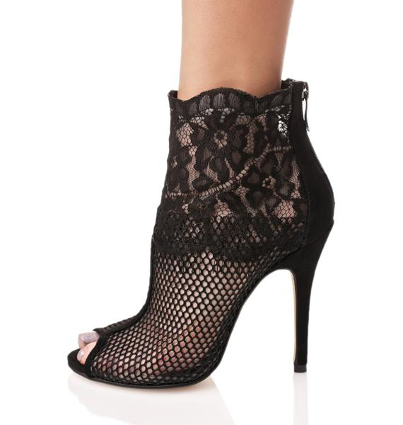 Chinese Laundry Jeopardy Mesh Heels