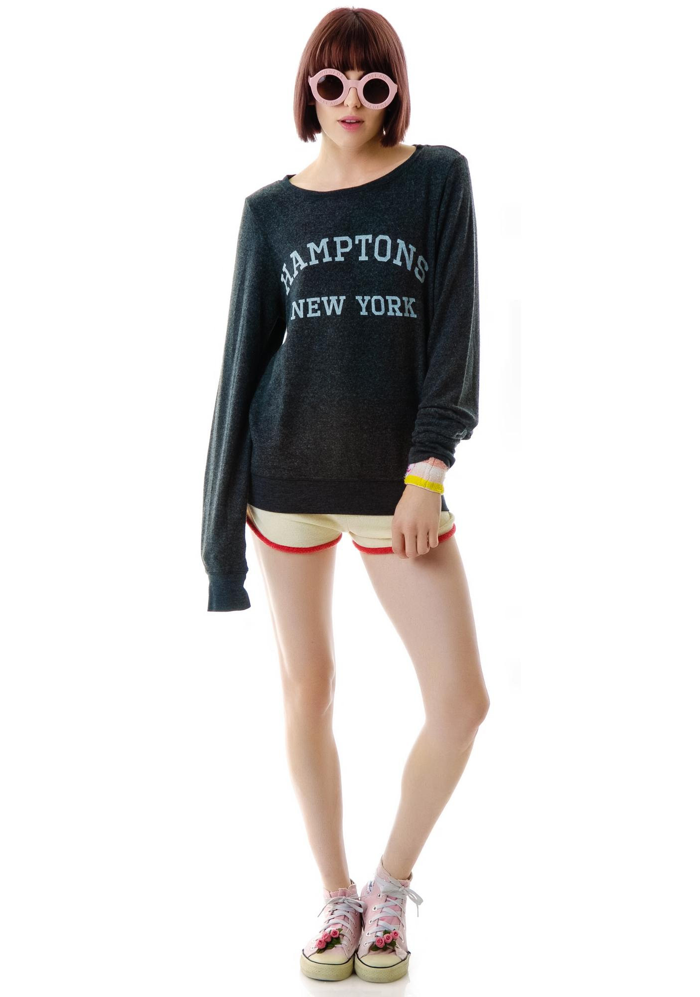 Wildfox Couture Hamptons, NY Baggy Beach Jumper