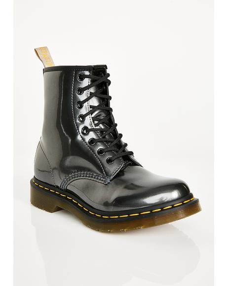 1460 Vegan Chrome Boots