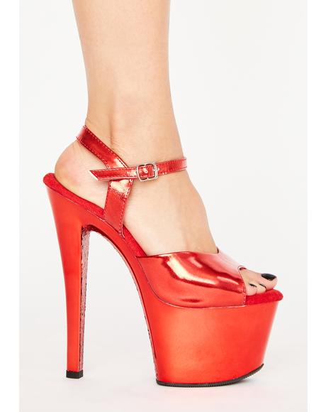 Hot As Hell Platform Heels