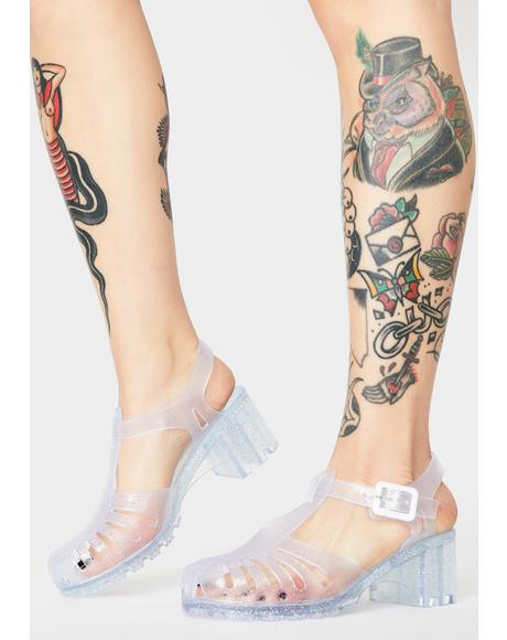 Total Transparency Jelly Shoes