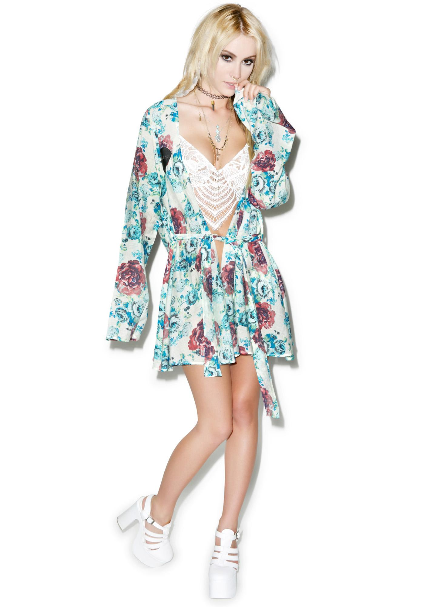 For Love & Lemons Naughty Robe