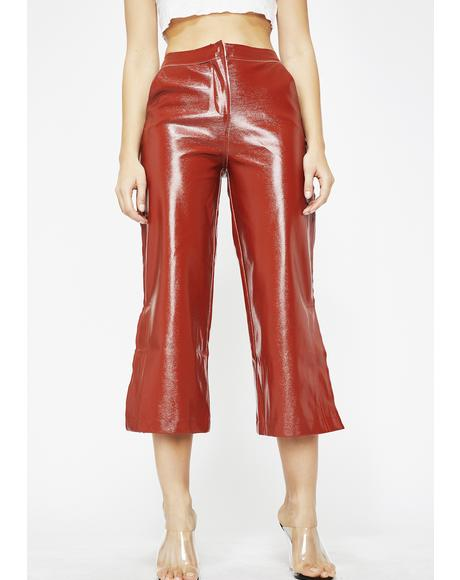 Boss Babe Vinyl Pants