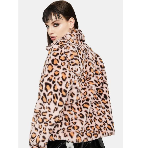Fierce Heart Faux Fur Jacket