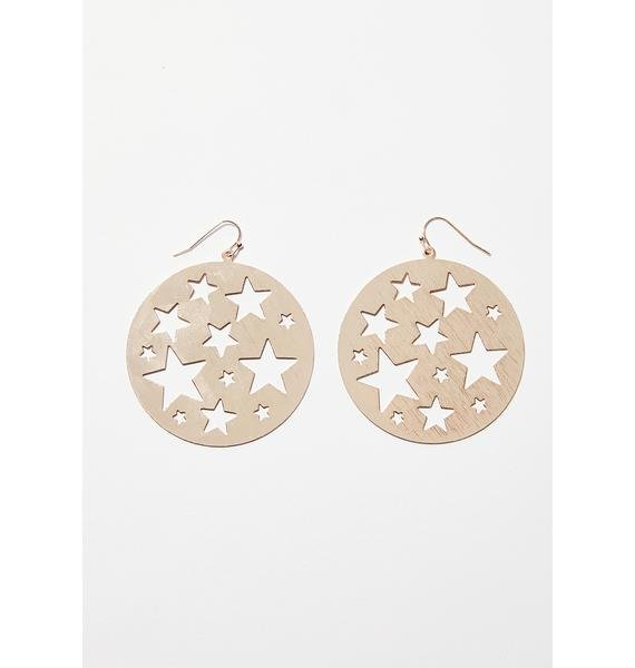 Astral Vision Star Earrings