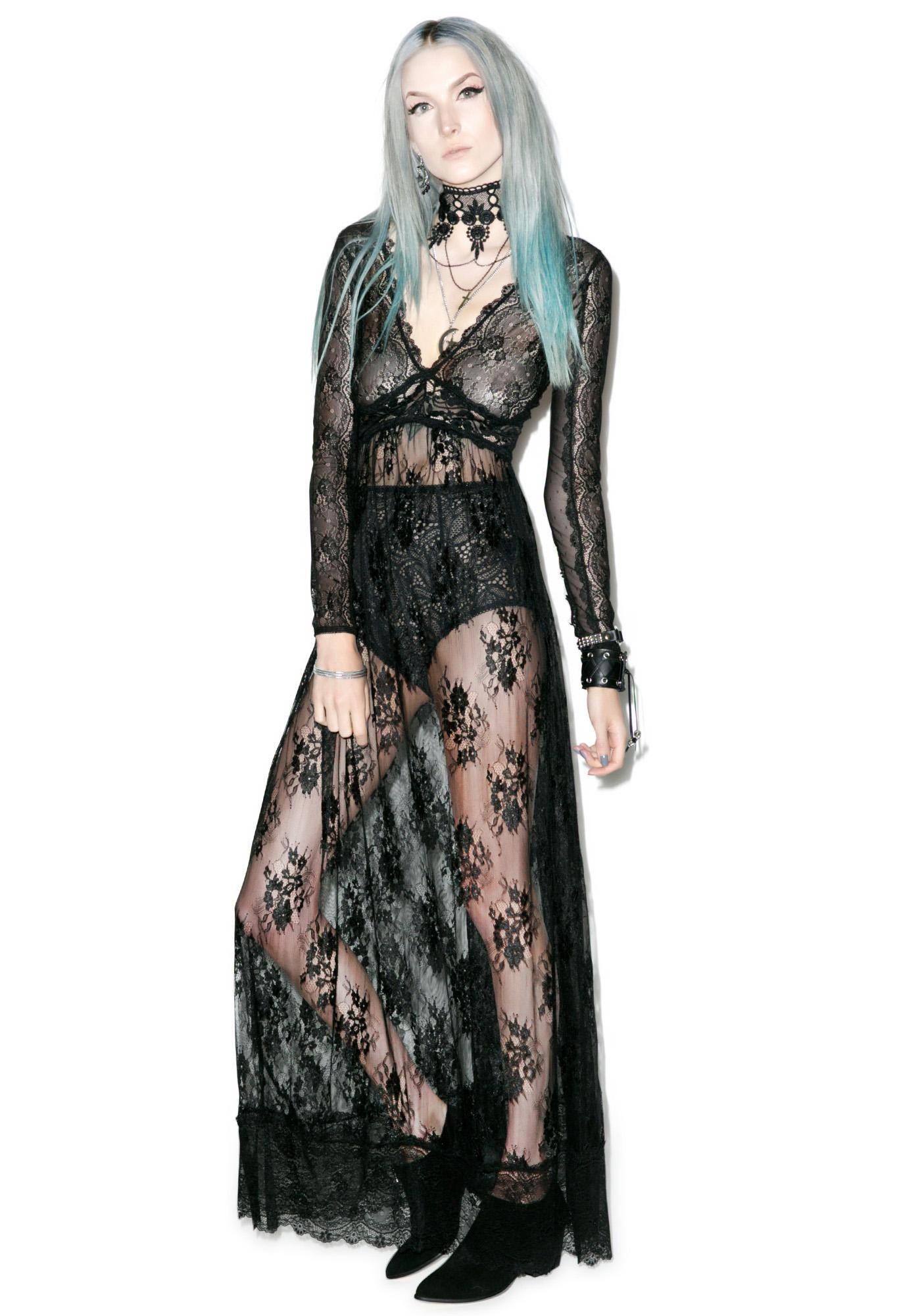 Widow Dear Departed Maxi Dress