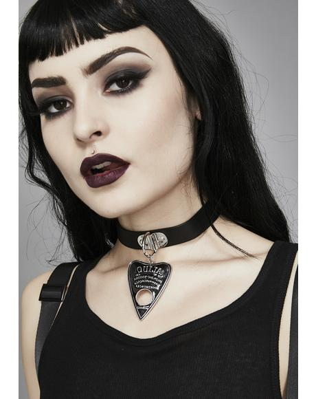 Spirit Conjuring Ouija Choker