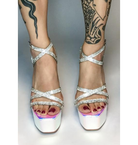 Diva Stay On Trend Platform Heels