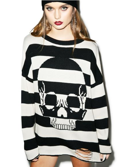 Urban Decay Striped Sweater