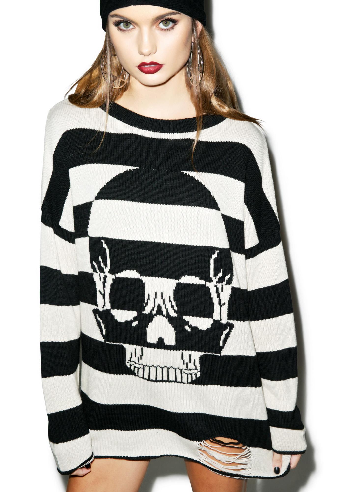 Iron Fist Urban Decay Striped Sweater