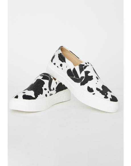 Moo Bish Slip On Sneakers