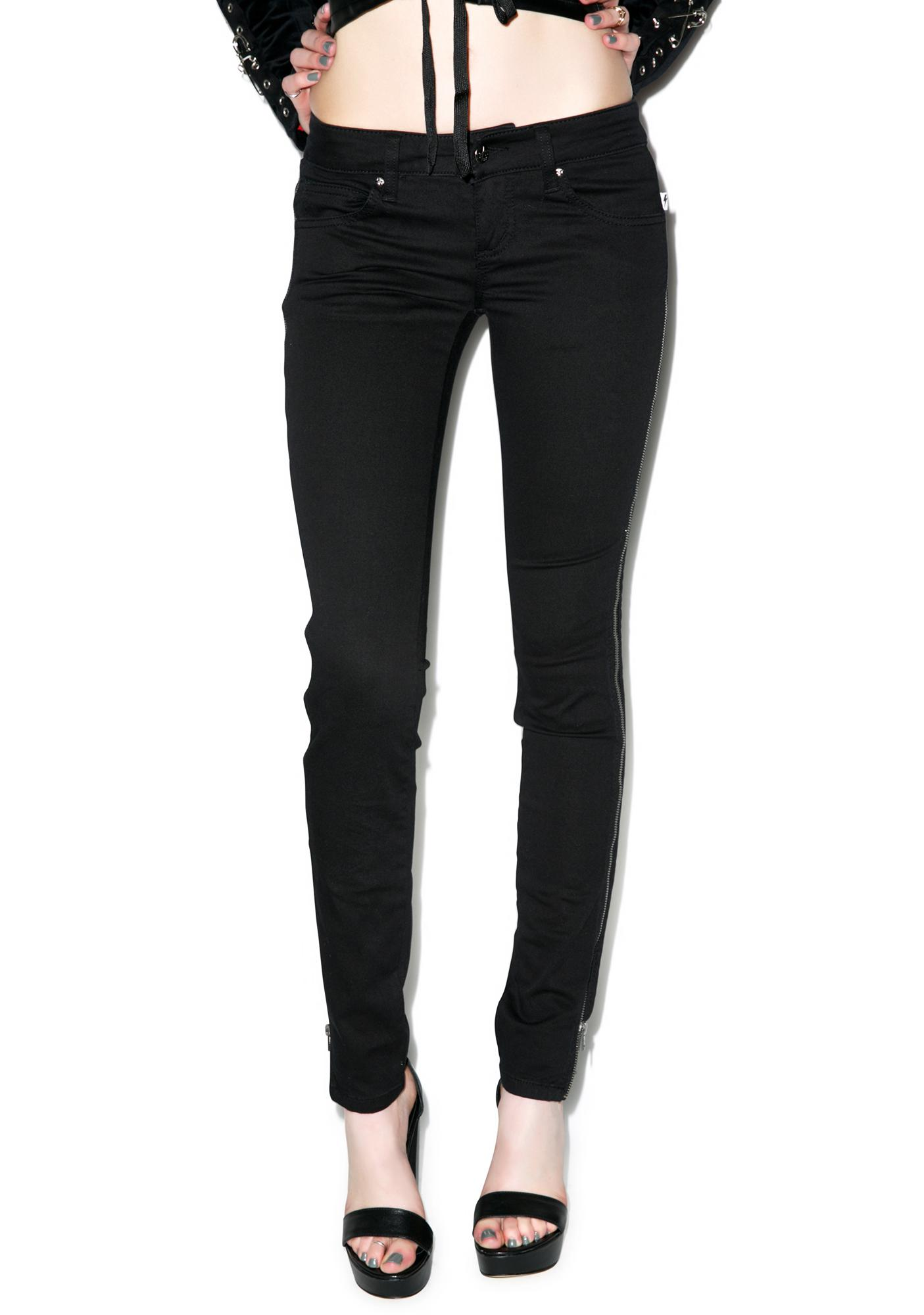 Tripp NYC Side Zip Jeans