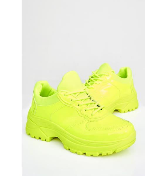 Super Bee Platform Sneakers