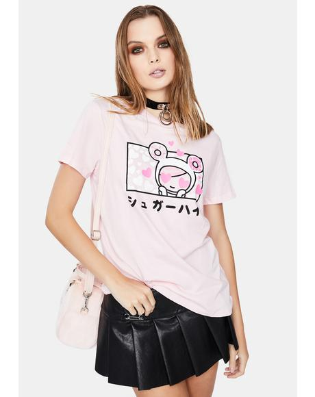 Sugar Love Short Sleeve Graphic Tee