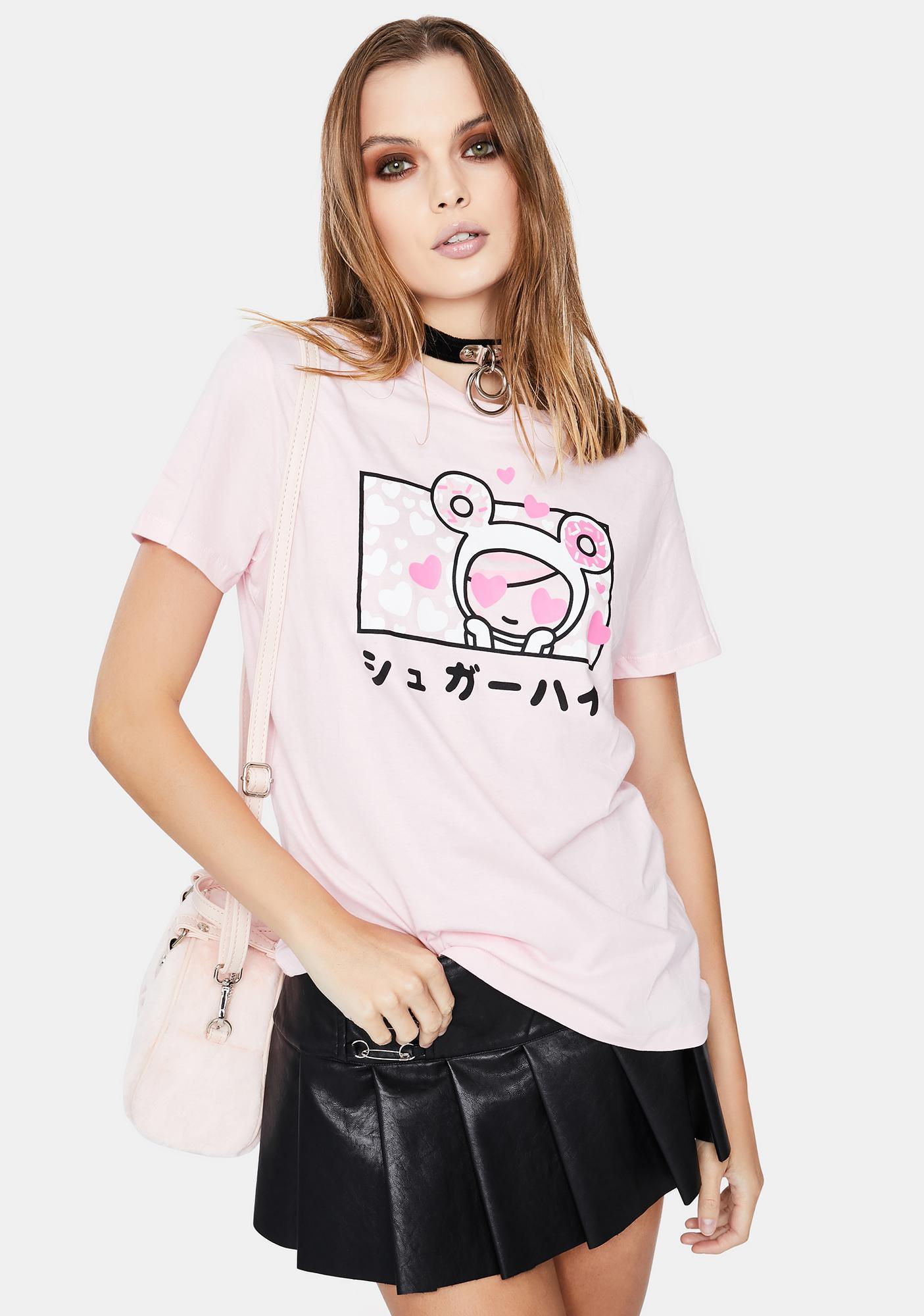 Tokidoki Sugar Love Short Sleeve Graphic Tee