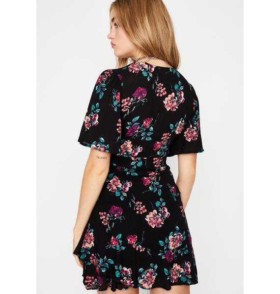 Doom N' Bloom Mini Dress