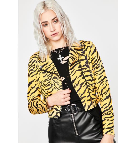 Power Prowl Zebra Jacket