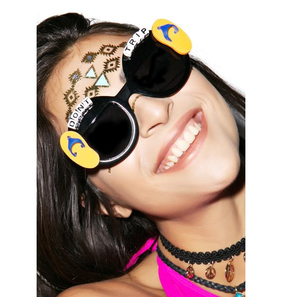 Rad and Refined Don't Trip Sandal Sunglasses