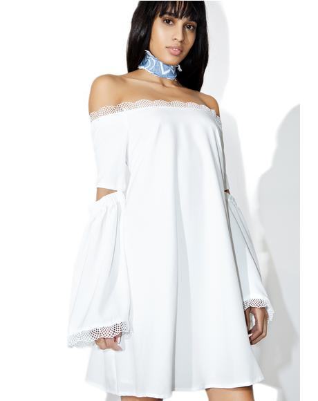 7 Wonders Off-Shoulder Dress