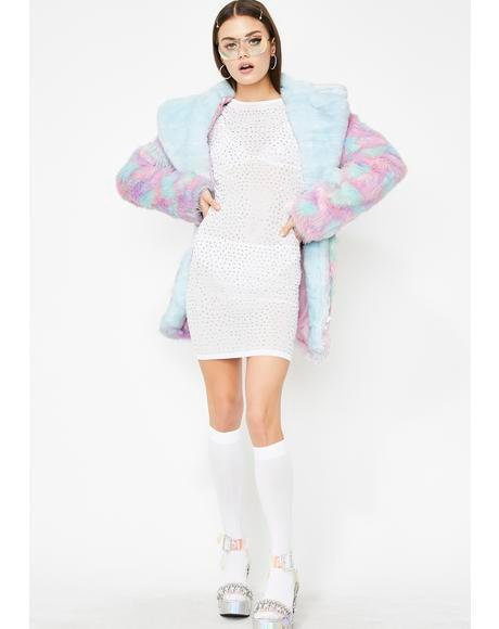 Boss Life Rhinestone Dress