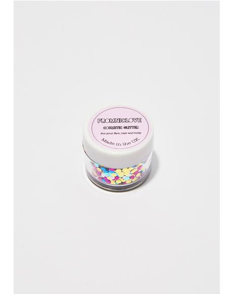 Chunky Tropical Cosmetic Face Glitter