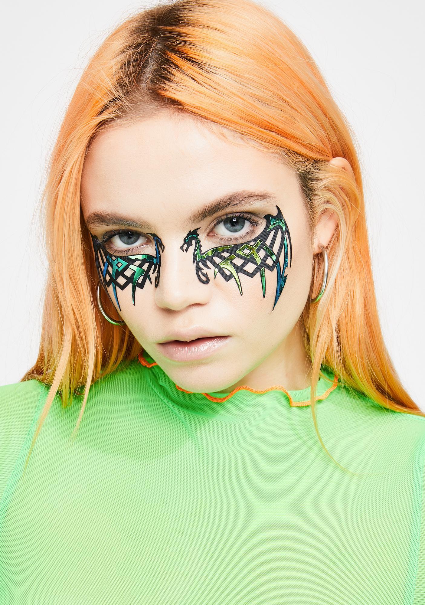 Face Lace Dragonova Eye Stickers