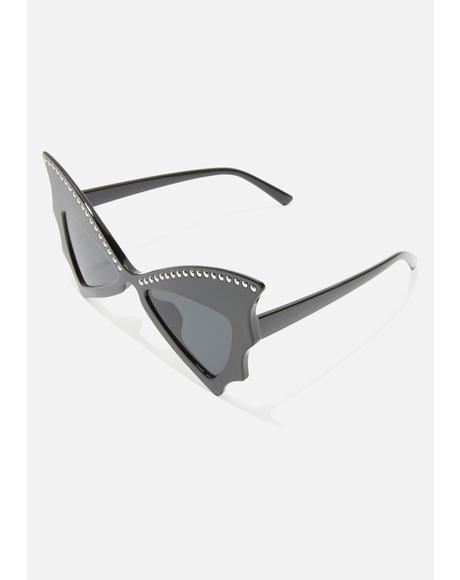 Into The Night Bat Wing Sunglasses