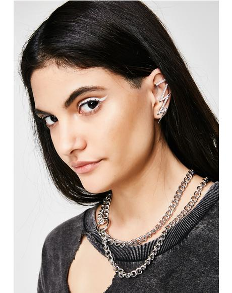 Ur So Electrifying Ear Cuff