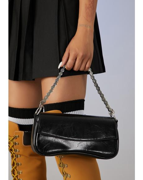 Two Faced Chain Shoulder Bag