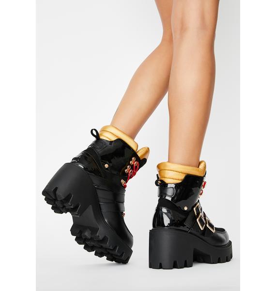 You're So Vain Platform Boots