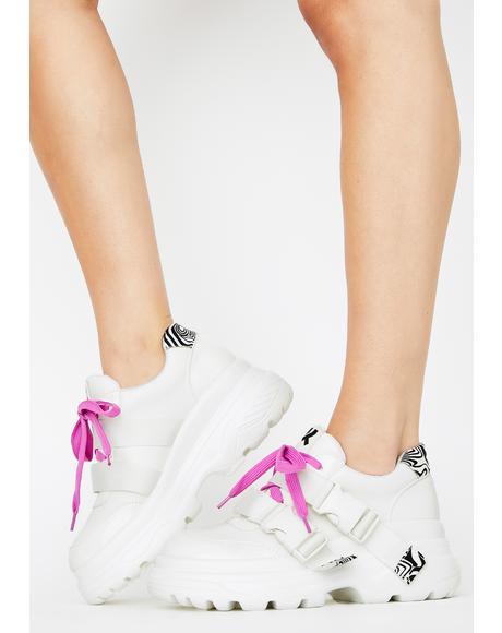 Rom Futurist Platform Sneakers