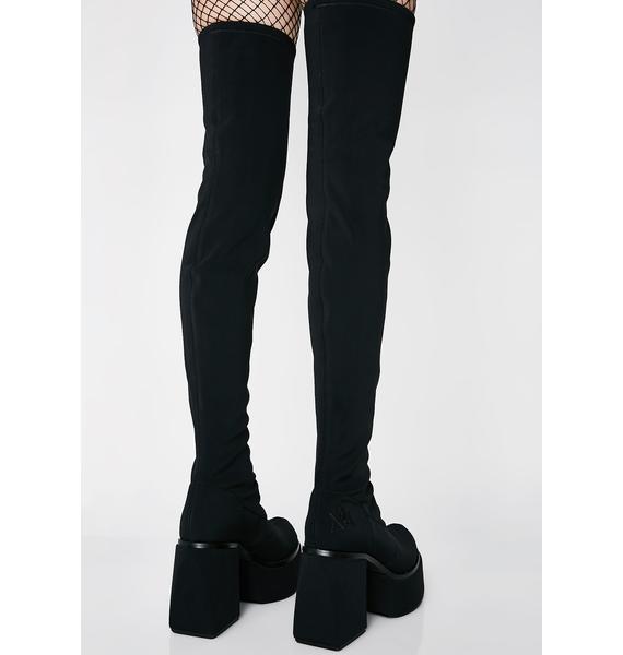 Y.R.U. Vida Thigh High Boots