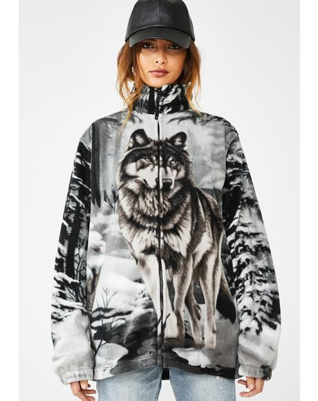 Wolf Pack Fleece Jacket