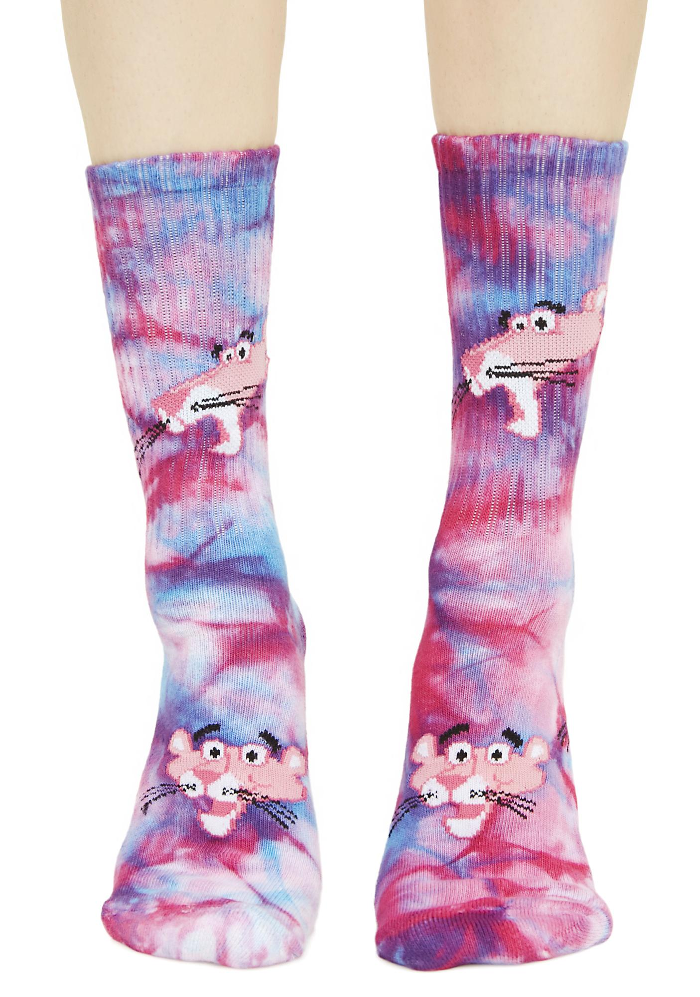 HUF HUF X Pink Panther Tie-Dye Socks