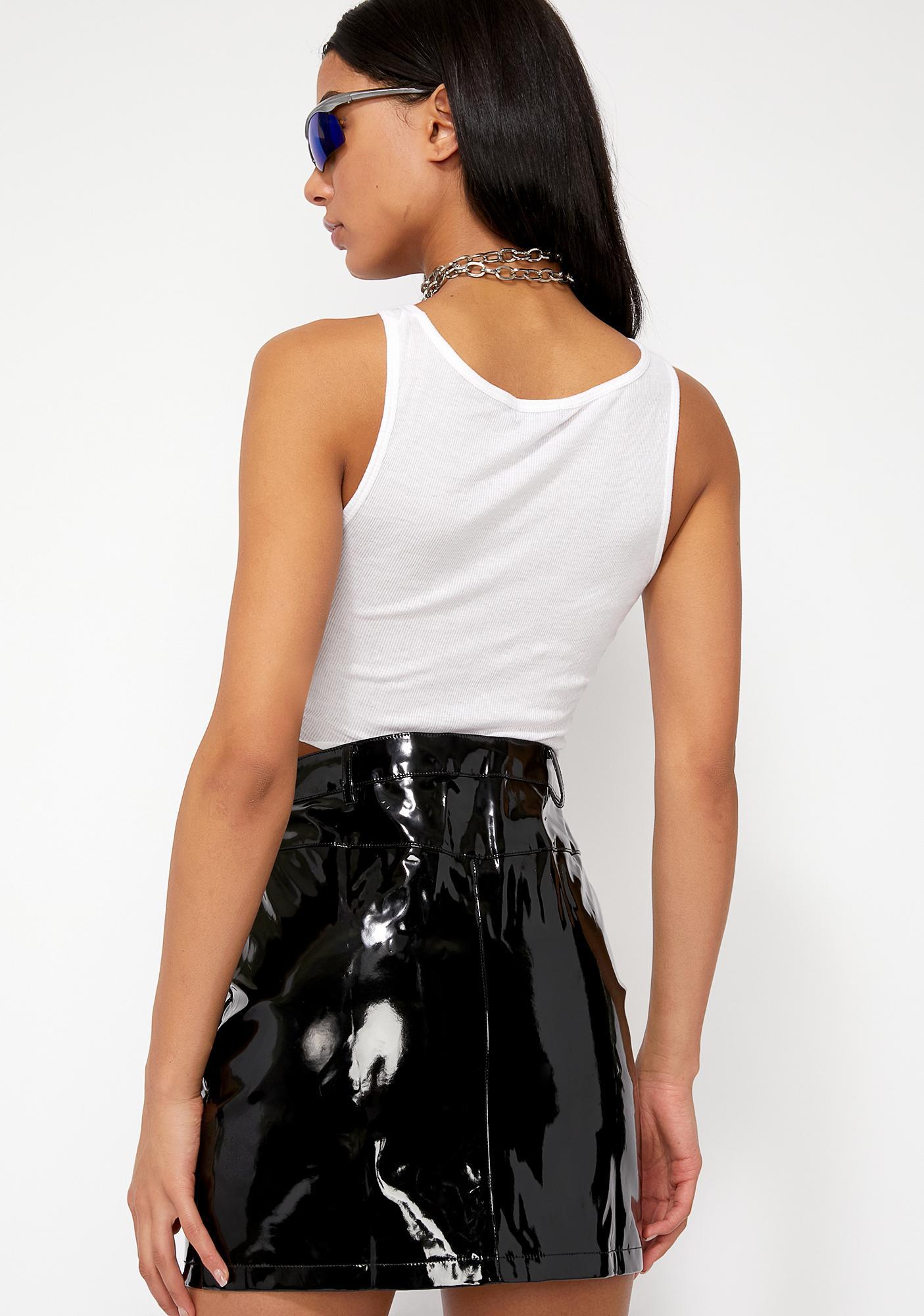 Dark Slime Crimez Moto Skirt