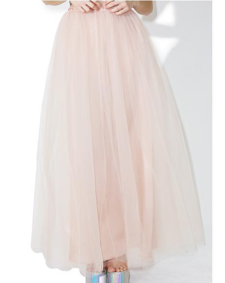 Dream Come Tru Maxi Skirt