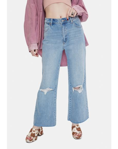 Liv Worn Eastcoast Flare Jeans