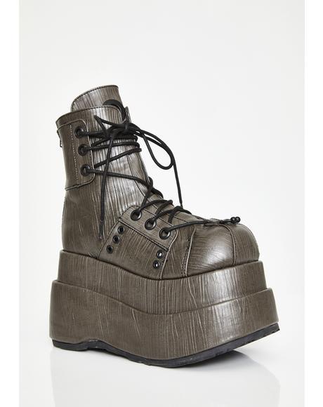 The Conqueror Platform Boots