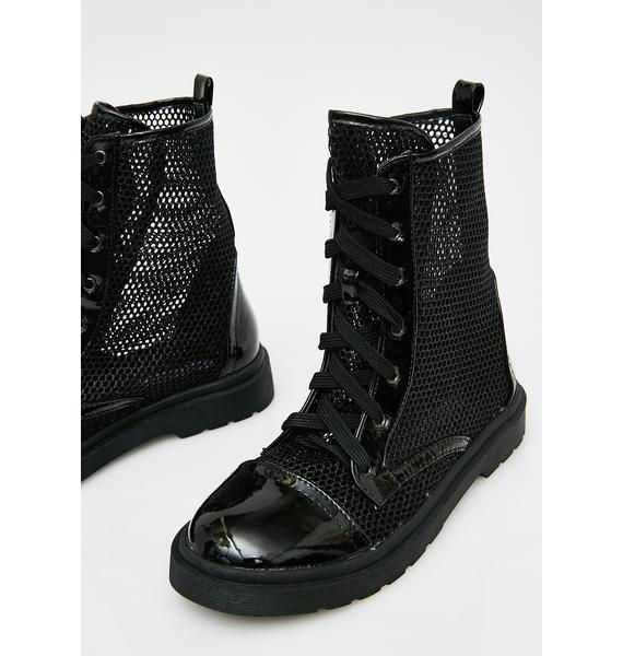 Get To Steppin' Combat Boots