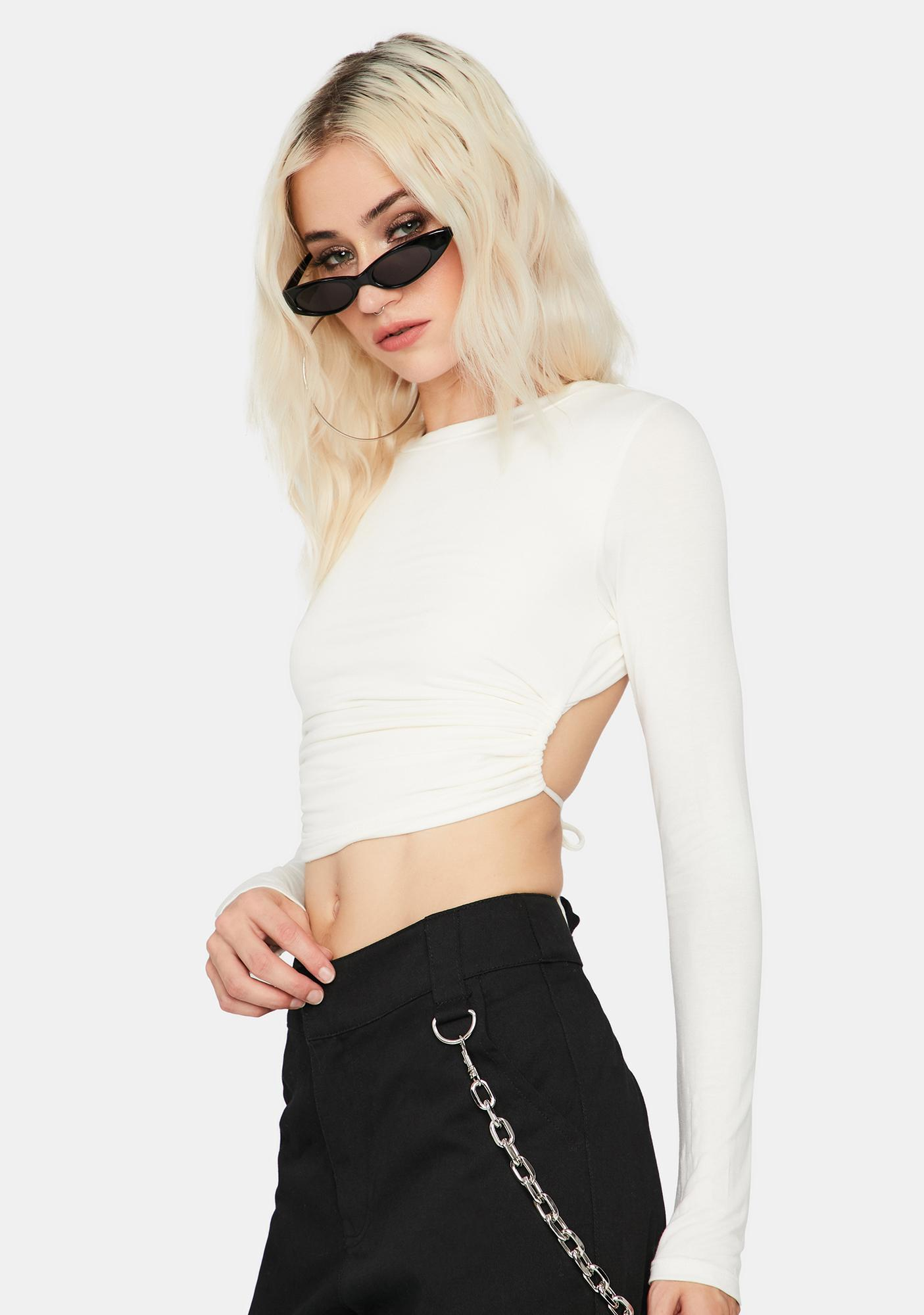 Where You At Crop Top