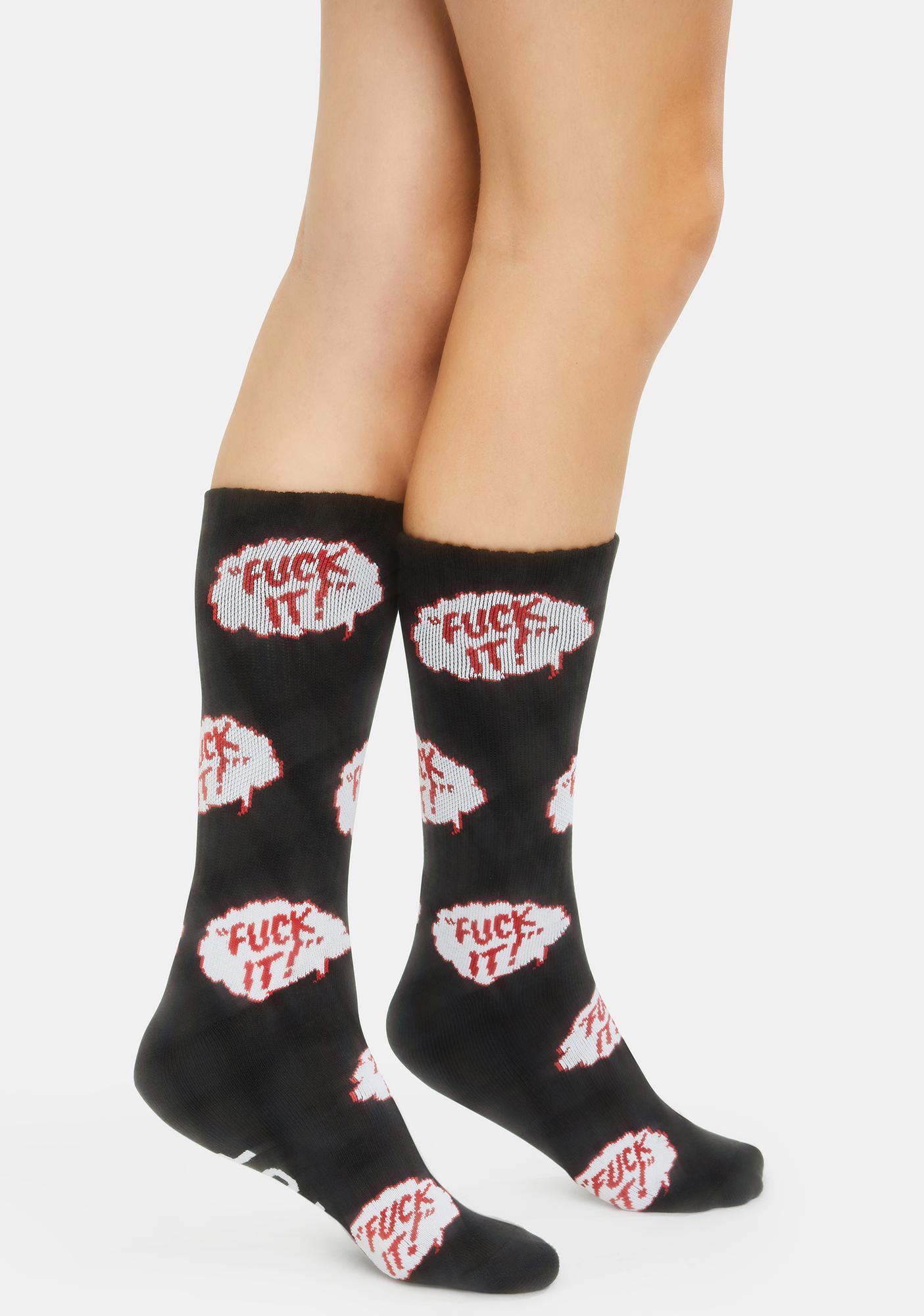 HUF The Motto Socks