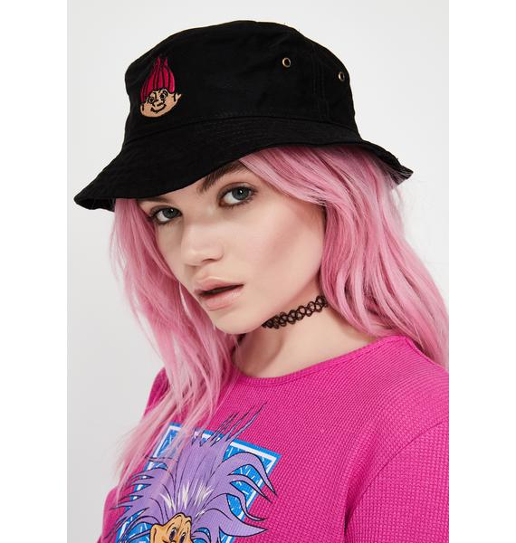 Good Luck Trolls x Dolls Kill Troll Bucket Hat