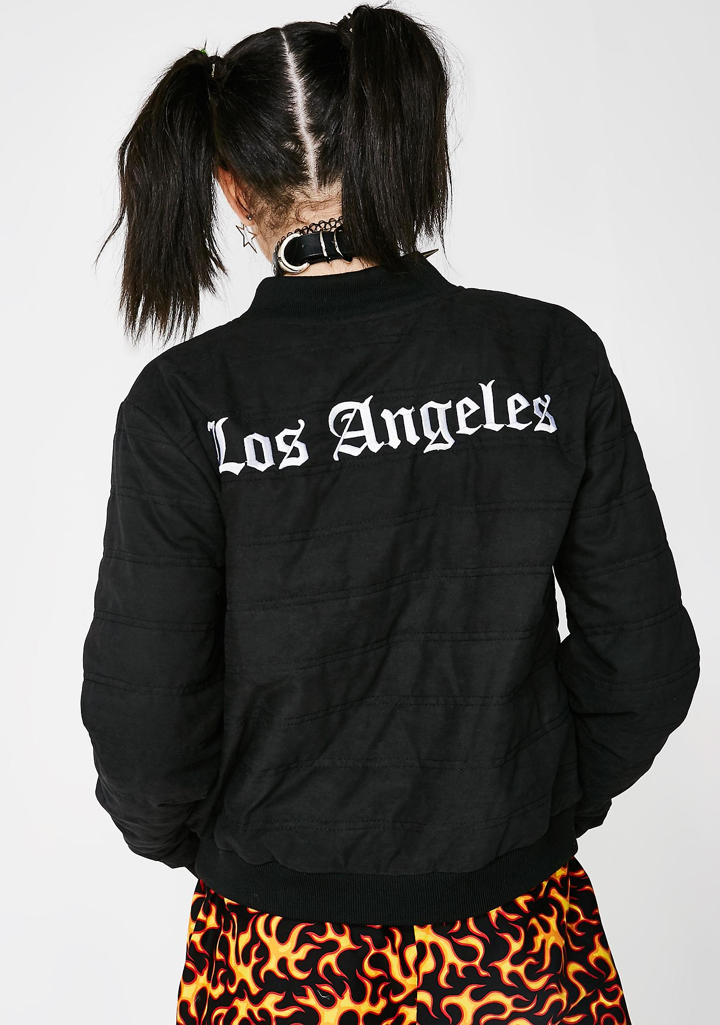 City Of Angels Bomber Jacket