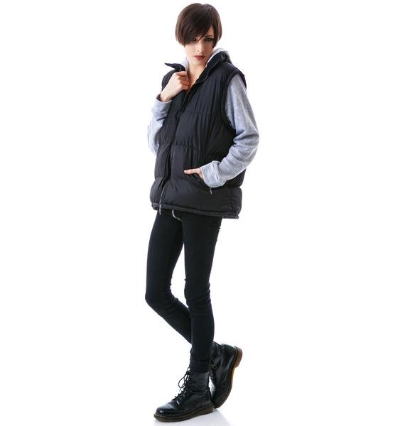 JET by John Eshaya Hooded Puffer Vest