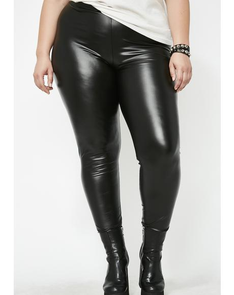 Not Yourz Vinyl Leggings