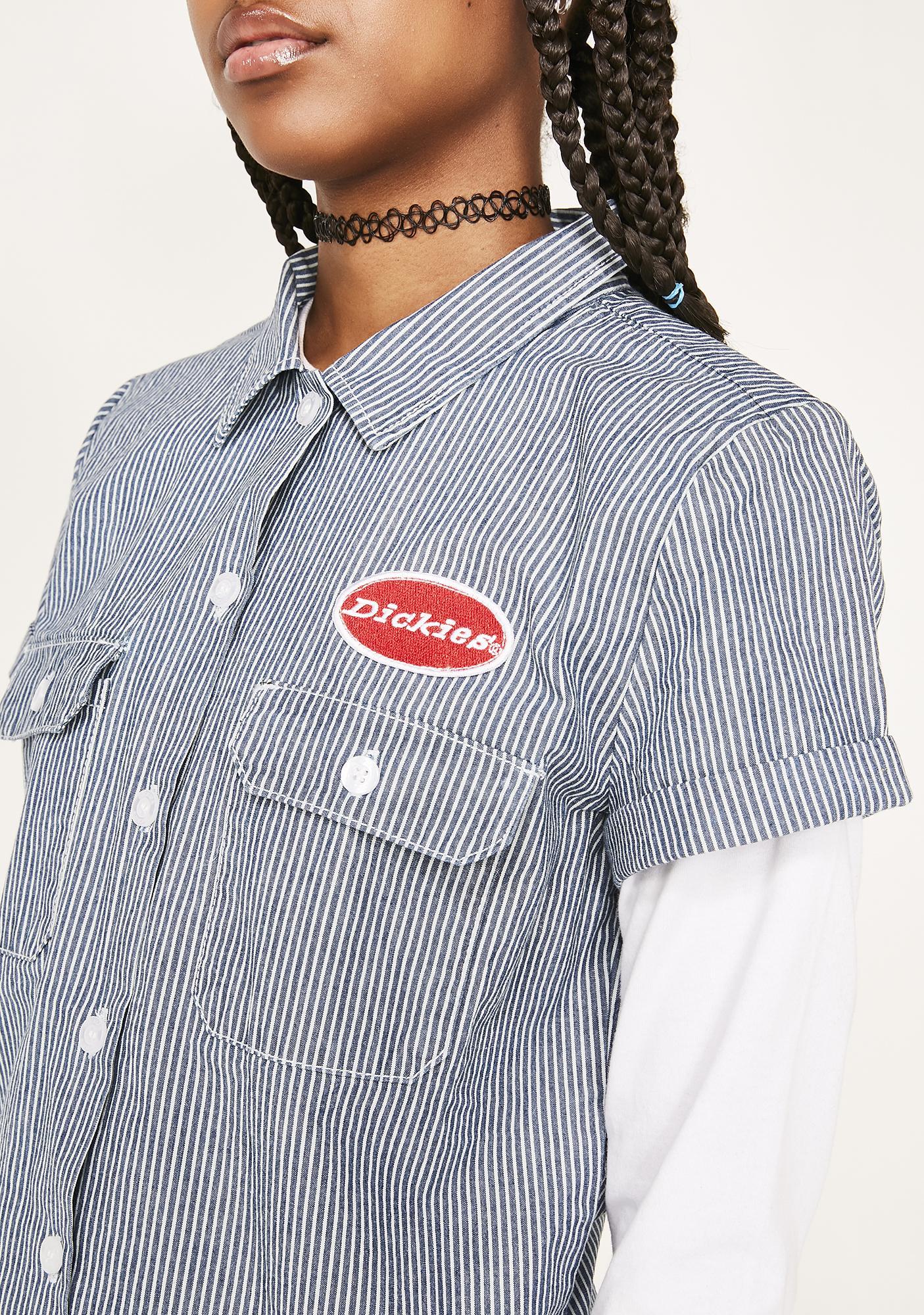 Dickies Girl Patch Work Shirt